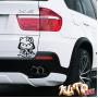 Наклейка «Hello Kitty Самурай»