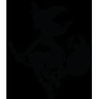 Наклейка «Ведьма v4»