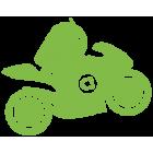 Наклейка «Android Biker»