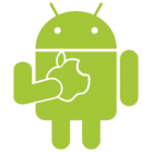 Наклейка «Android and Apple»