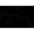 Наклейка «Дельфины v2»