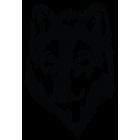 Наклейка «Волк»