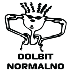 Наклейка «Dolbit Normalno v2»