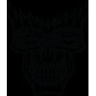 Наклейка «Offroad Skull»
