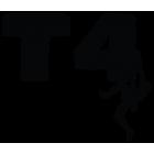 Наклейка «T4»