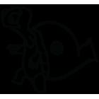 Наклейка «Турбочерепаха»