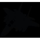 Наклейка «Jet Fighter v5»