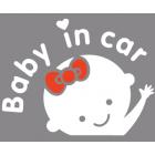 Наклейка «Ребенок в машине v18»