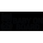 Наклейка «Baby on Board Batman»