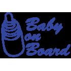 Наклейка «Baby on Board v4»
