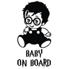 Наклейка «Baby on Board v8»