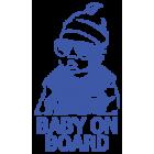 Наклейка «Baby on Board v17»