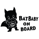 Наклейка «BatBaby on Board»