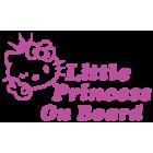 Наклейка «Little Princess on Board»