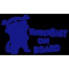 Наклейка «Baby on Board v21»