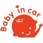 Наклейка «Ребенок в машине v28»
