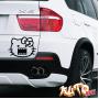 Наклейка «Hello Kitty Domo»