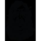 Наклейка «Сандор Клиган по прозвищу Пёс»