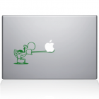 Наклейка для MacBook «Yoshi Tongue»