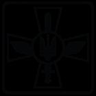 Наклейка «ПС ЗСУ - Повітряніі сили України»