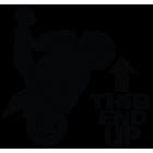 Наклейка «This End UP»
