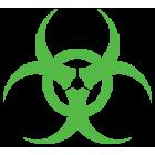 Наклейка «Biohazard»