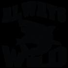 Наклейка «Always Wild»