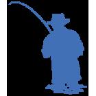 Наклейка «Рыбак v5»