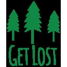Наклейка «Get Lost»
