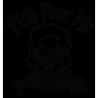 Наклейка «Fish fear me»