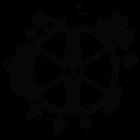Наклейка «Поисковая катушка»