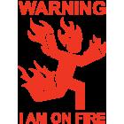 Наклейка «Warning ...»