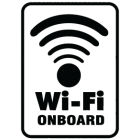 Наклейка «WiFi OnBoard»
