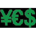 Наклейка «YES»