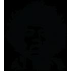 Наклейка «Jimi Hendrix»