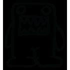 Наклейка «Domo-kun»