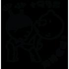 Наклейка «POBABY GST»