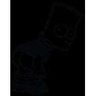 Наклейка «Bart Simpson»