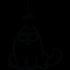 Наклейка «Кот Саймона v24»