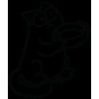Наклейка «Кот Саймона v5»