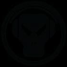 Наклейка «Skull DJ»