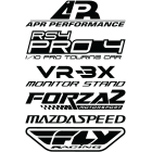 Наклейка «Спонсоры v3»