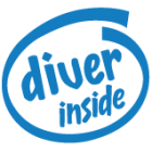 Наклейка «Diver Inside»
