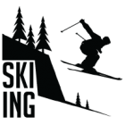 Наклейка «Лыжник v3»