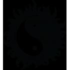 Наклейка «Инь-Янь TS v2»