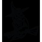 Наклейка «Ведьма v8»