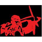 Наклейка «Пилот ВОВ»