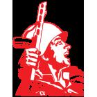 Наклейка «Воин»