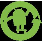 Наклейка «Android Cyanogen Mod»