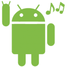 Наклейка «Android Rock'n'Roll»